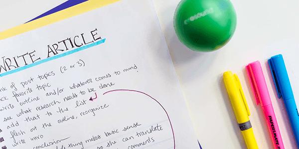 Une To-Do-List pour vous motiver à aller de l'avant ?