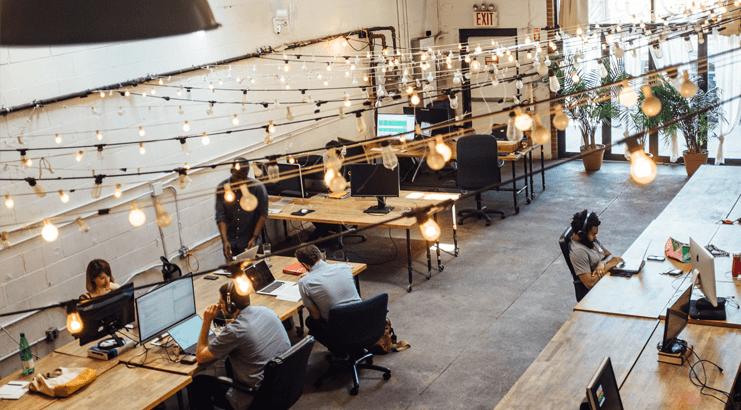 Le coworking séduit les Français en Ile-de-France